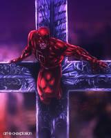 Evil's faith by Art-is-a-Explosion