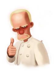 Pixar Character - Zaid by lescopaque