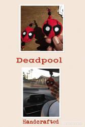 Deadpool handcrafted felt decor by nakomiah