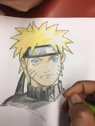 Naruto sketch  by nakomiah