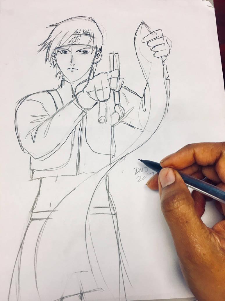 #NarutoShippuden #SaiYamanaka by nakomiah