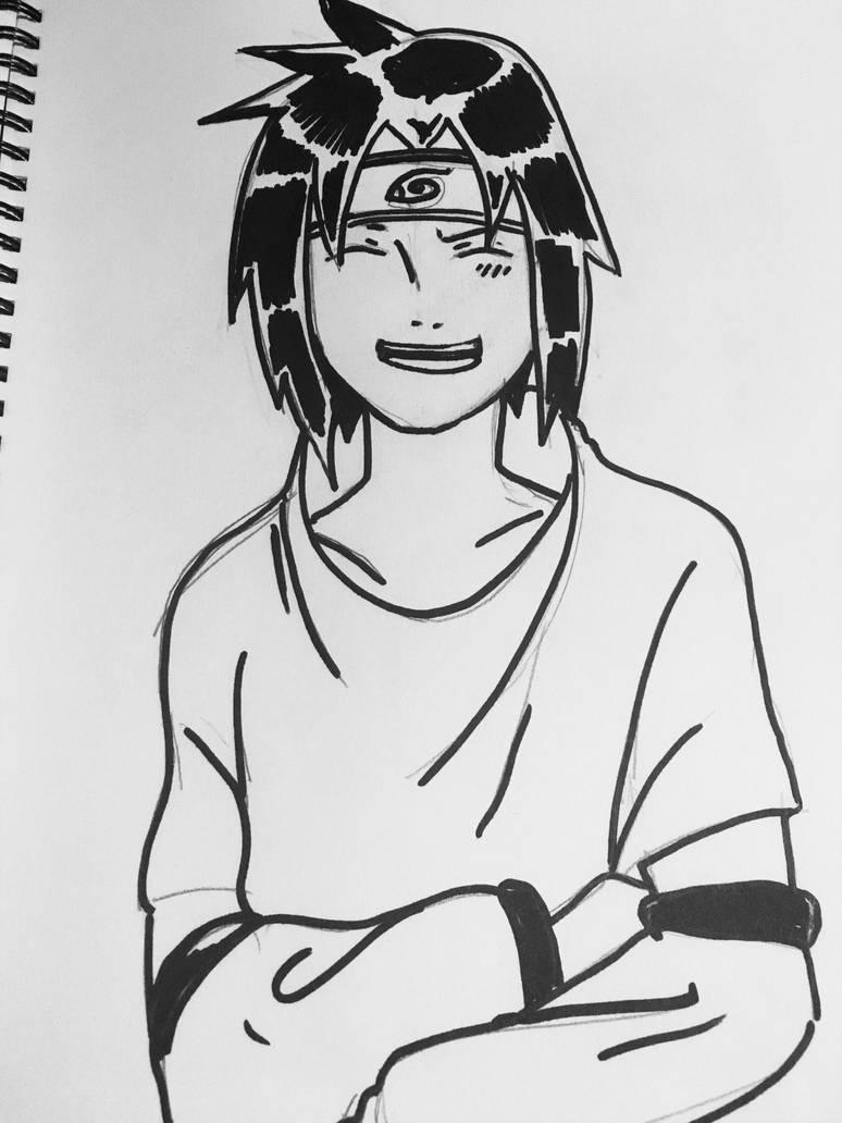 #SasukeUchiha by nakomiah