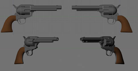Colt Single Action WIP by Beowulf71