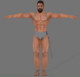 Leo body finally textured! by Beowulf71