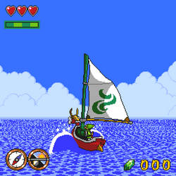 the legend of zelda: Wind Waker Snes by gilamasan