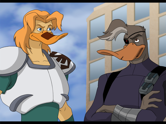 Style Reboot Mighty Ducks Nosedive And Duke By Sabraetrash On