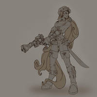 steampunk pirate by jamis27