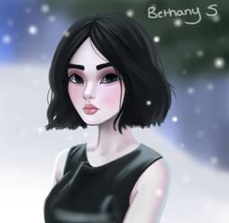 Snow Girl by Captain-Skittles
