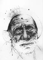 Old age - Special study, Illustration. by RobertJosephManning