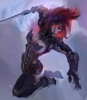 Metal Gear Rising by kuchumemories9