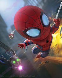 Spiderman Homecoming by kuchumemories9