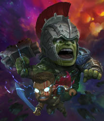 Thor Raknarok by kuchumemories9