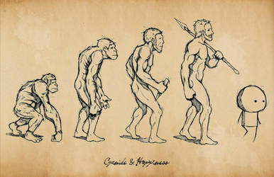 Evolution and Happiness by ShawnCoss