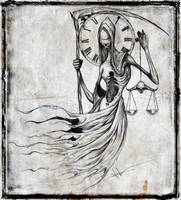 Lady Justice of Death by ShawnCoss