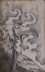 Syrian Crow by ShawnCoss