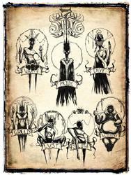 se7en Deadly Sins by ShawnCoss