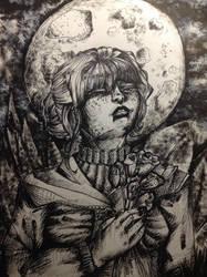 Hija de la luna by FellyBear