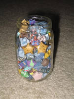 Doctor Who Star Jar and Earrings by DragonsAndDreamscape