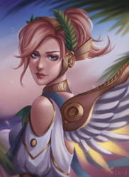 Winged Victory Mercy 2 by rei-kaa