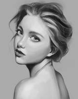 Weekly portrait study 3 by rei-kaa
