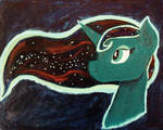 Acrylic Moon Goddess by JarCup