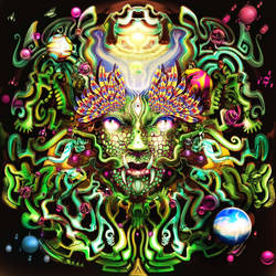 Cosmic Condolence (Colored version 23) by AstArte23