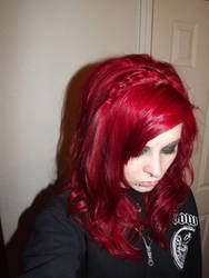 hair styled by kellyember