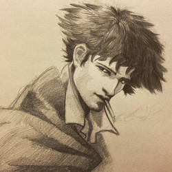 Spike spiegel IG by ninjason57