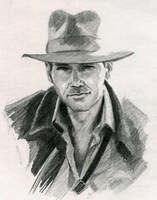 Indiana Jones by ninjason57