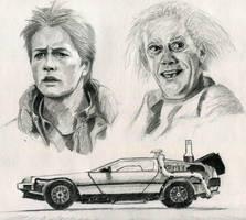 Back to the Future by ninjason57