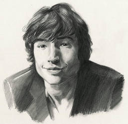 Ezra Miller: The Flash by ninjason57