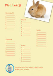 Bunny Timetable 2 by Black---Angel
