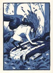 The Dreaming Print by milokey