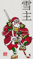 Samurai Claus by ShadowXSnake