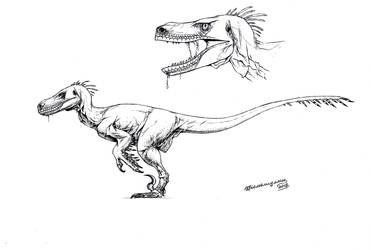 JP Velociraptor - my version by Xiphactinus