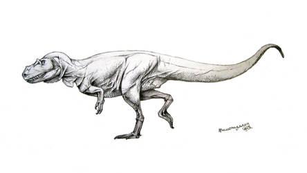 Saltriovenator zanellai by Xiphactinus