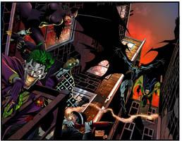 Batman-Robin by puzzlepalette