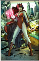 Scarlet Witch by puzzlepalette