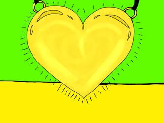 Chara's Golden Locket by chasteliac