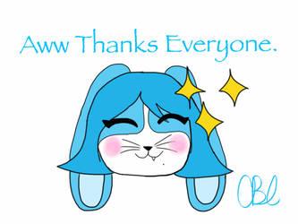 Aww thanks guys! by chasteliac