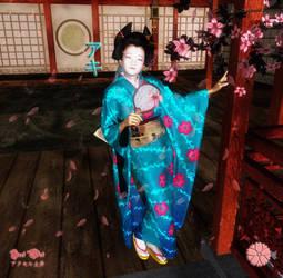 Aki: The Japanese Beauty by Axel-Doi