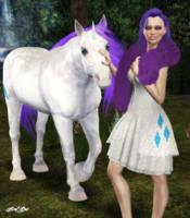 My Little Pony: Rarity by Axel-Doi