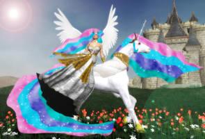 My Little Pony: Princess Celestia by Axel-Doi