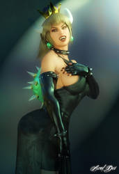 Bowsette: Yeah, I'm doing it too by Axel-Doi