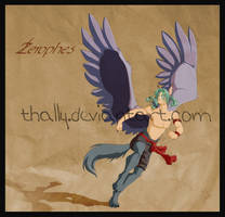 Lizkay Commission - Zerophes by Thally