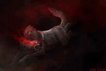 Burning Red by Dark-Sheyn