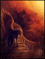 Stairway by Dark-Sheyn