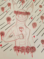 Goretober 3rd: Roses by LeggyKoi