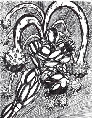 She-venom Attacks! by rickchart