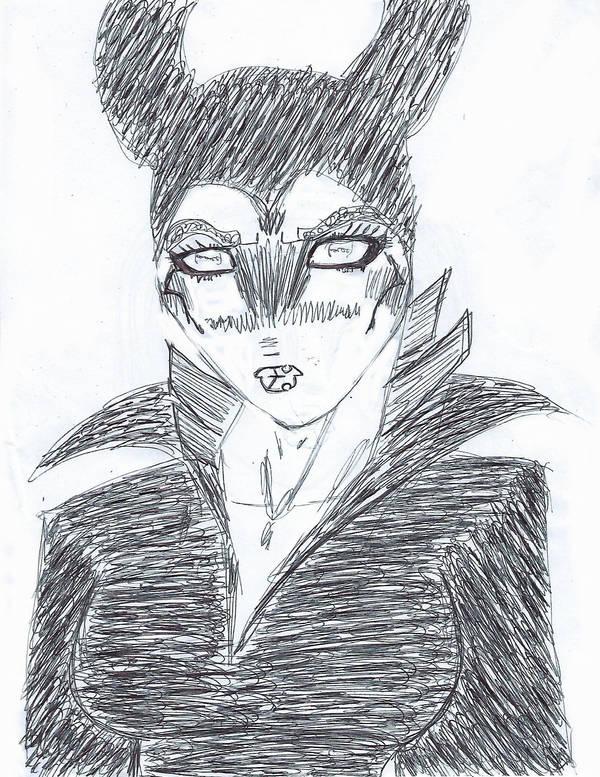 Maleficent Portrait! by rickchart